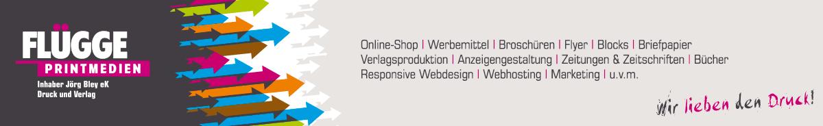 Flügge Printmedien Online Druckerei Günstige Preise Und